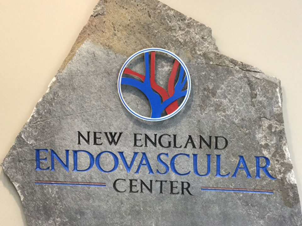 NE Endo stone sign