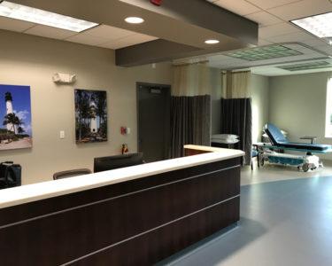 NE Endovascular Center Desk