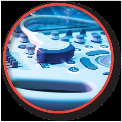 ultrasound insert button