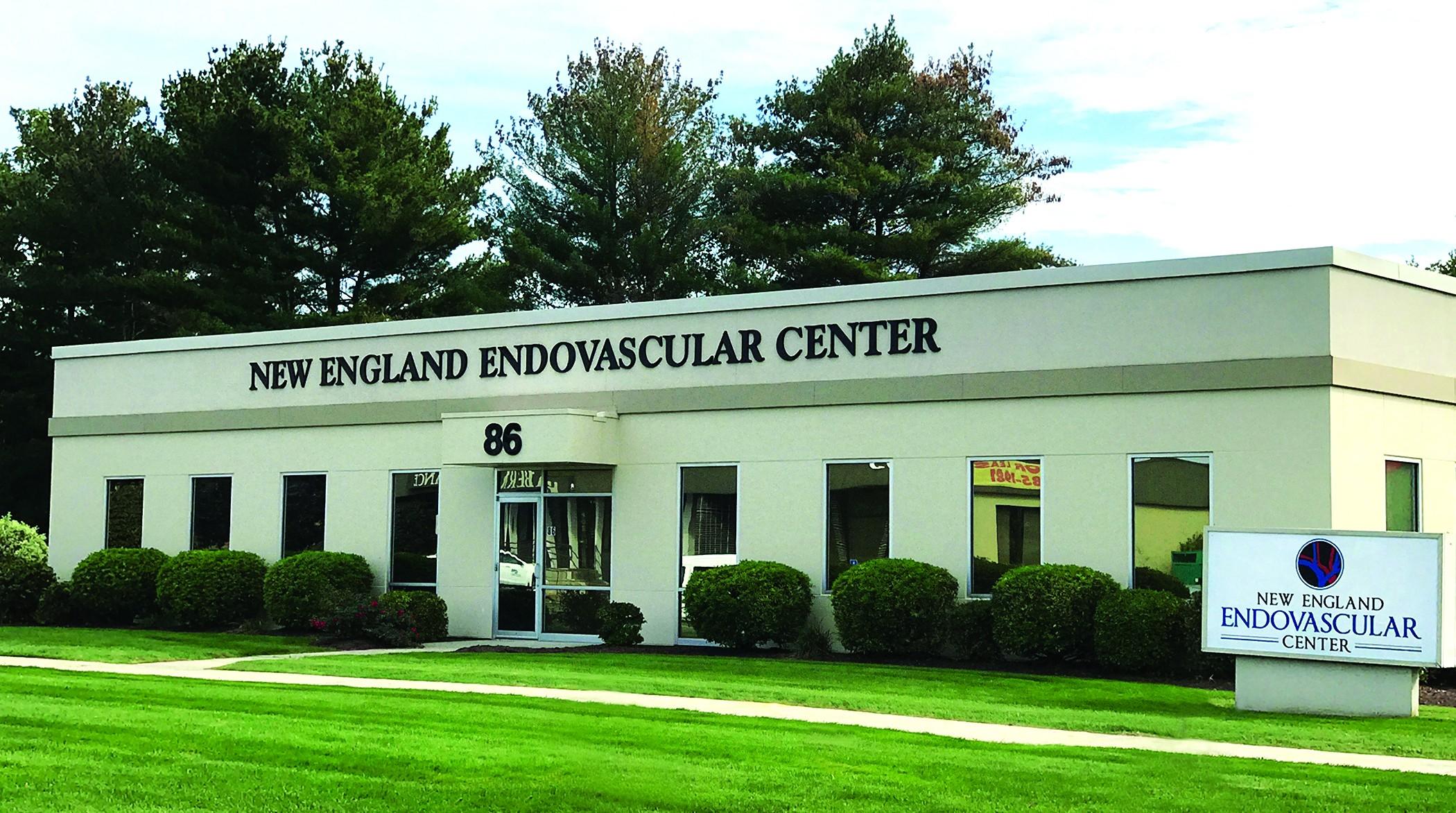 exterior of NE Endo building