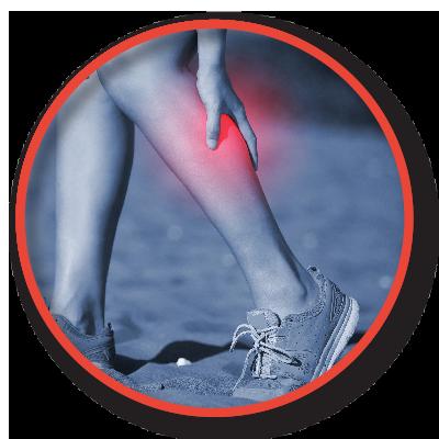 PAD leg pain button