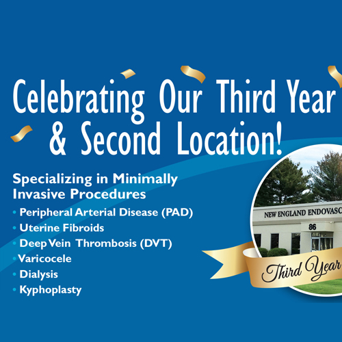 NE endovascular third year and second location