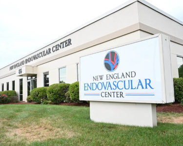 NE Endovascular Center Sign And Building